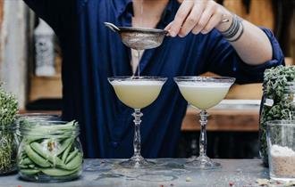 The Botanist drinks
