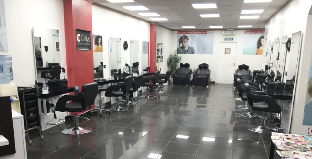 Interior of Celly's Hairdressing