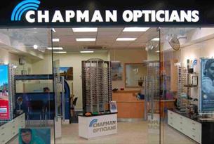 Exterior of Champman Opticians