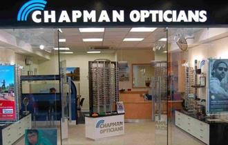 Exterior of Champman Opticians