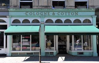 Exterior of Cologne and Cotton