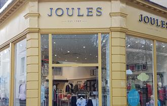 Exterior of Joules store