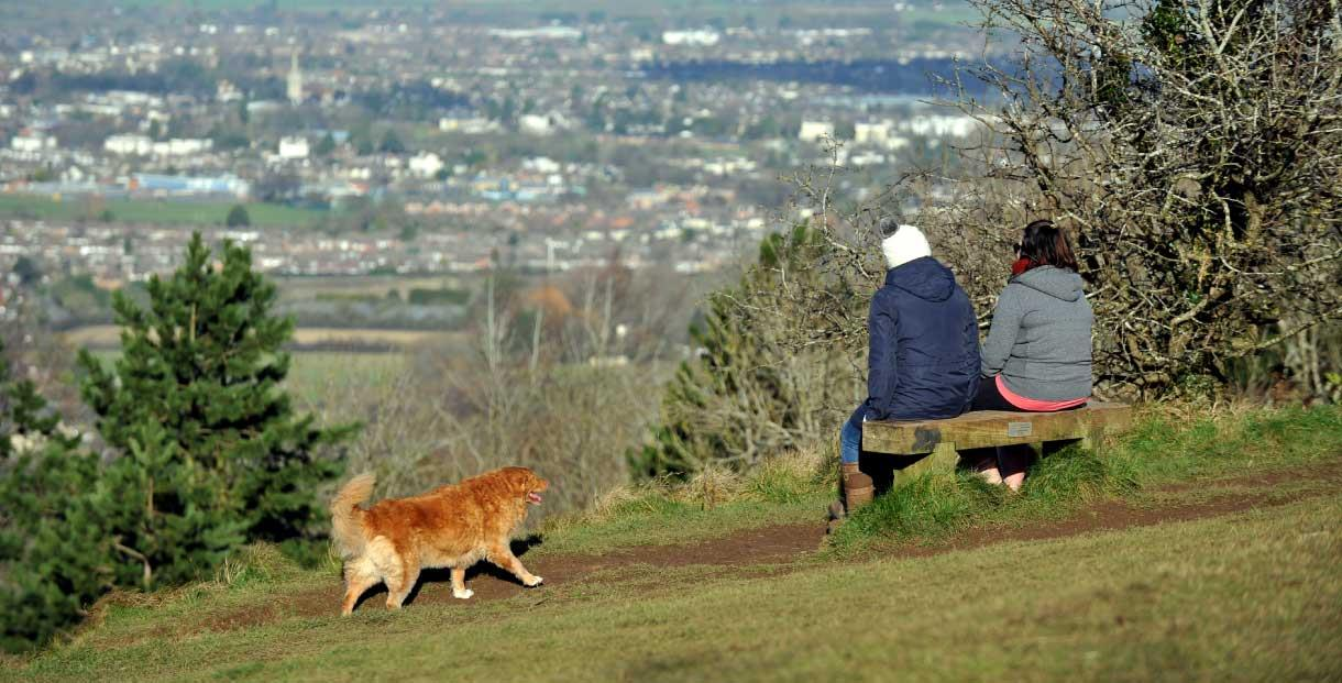 Leckhampton Hill and Charlton Kings Common in Cheltenham