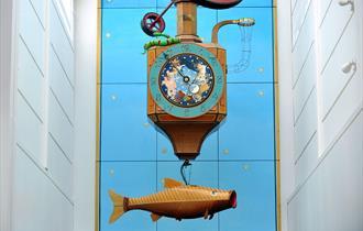 Wishing Fish Clock