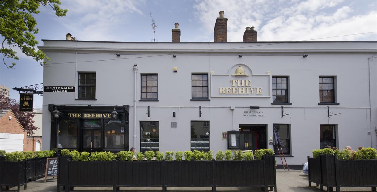 The Beehive Cheltenham  exterior shot
