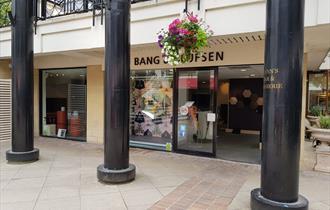 Exterior of Bang & Olufsen