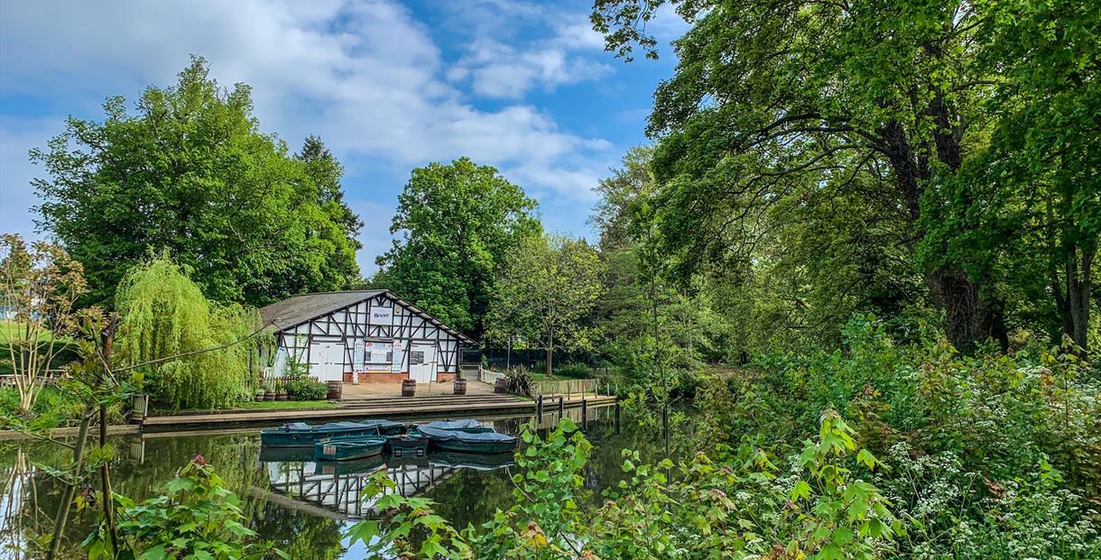 Boathouse Cafe Pittville Park Cheltenham