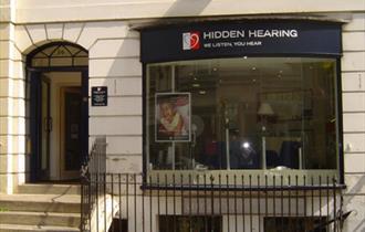 Exterior of Hidden Hearing