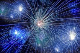 Cheltenham Round Table Fireworks at Cheltenham Racecourse
