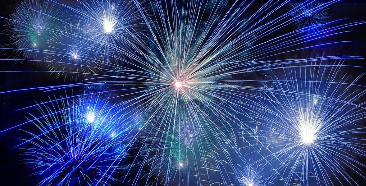 Cheltenham Round Table Fireworks 2019, Cheltenham Racecourse