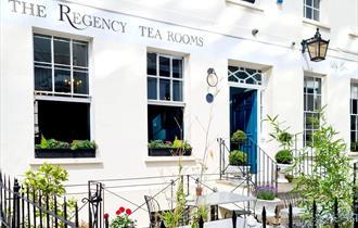 The Regency Tear Rooms Cheltenham - exterior