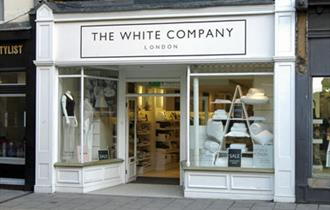Exterior of The White Company
