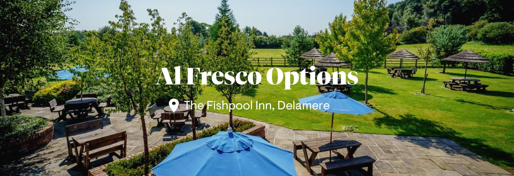 Al Fresco Options in Chester and Cheshire