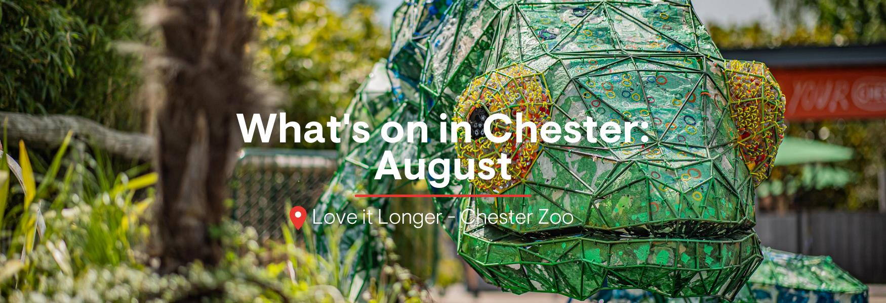 What's on in Chester: August