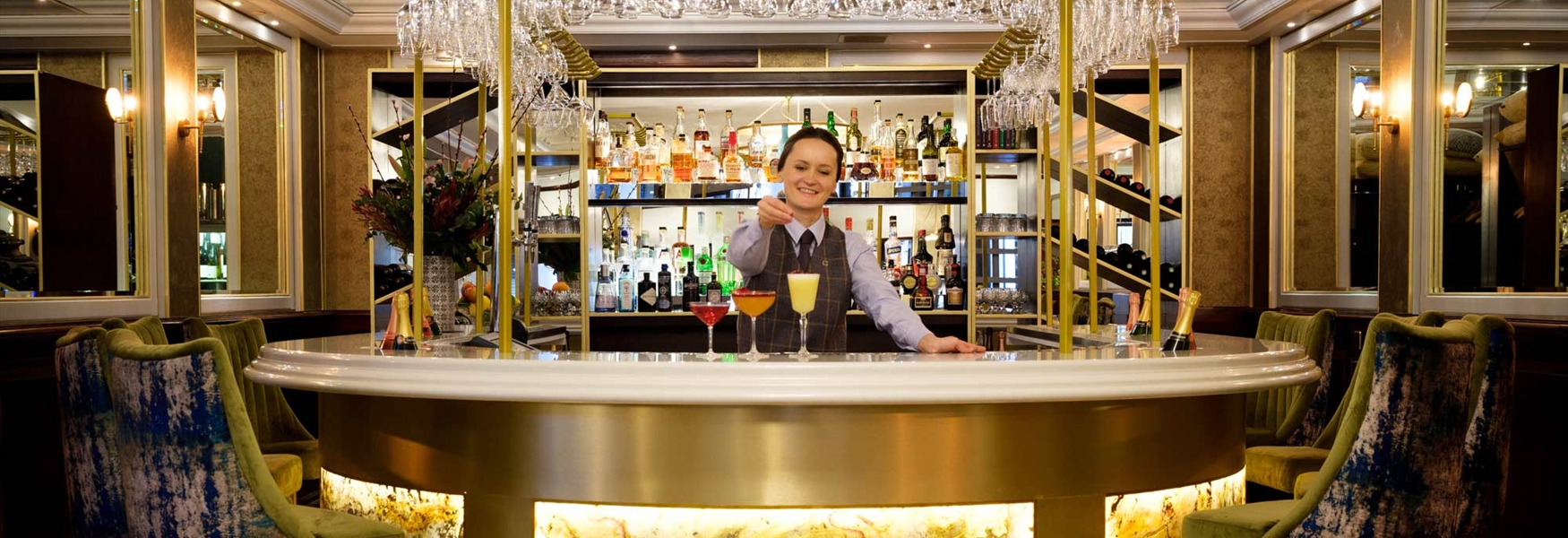 Bar at La Brasserie at The Chester Grosvenor