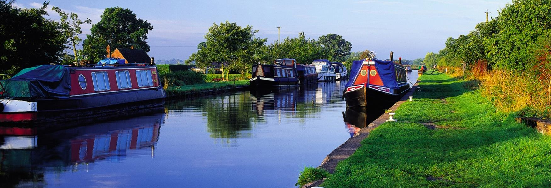 Canals and Waterways in Cheshire