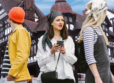 Customers enjoying Treasure Hunt Chester
