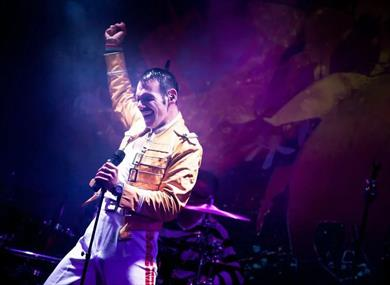 Drive In - Freddie Mercury Tribute- Chester FC