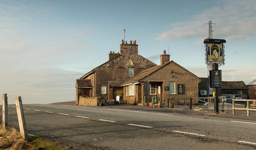 Exterior of The Cat & Fiddle