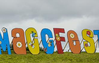 Maccfest sign
