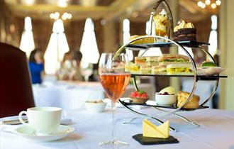 Sumptuous Afternoon Tea at the Alderley Edge Hotel