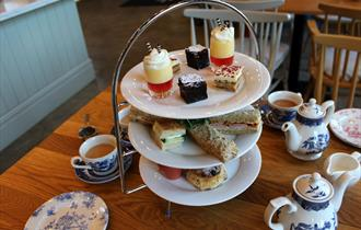 An Indulgent Champagne Afternoon Tea in the Hall