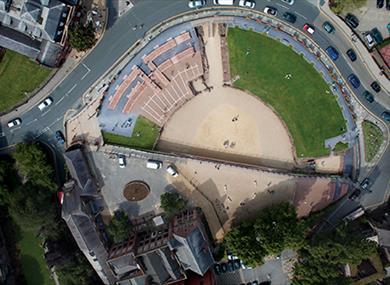 Roman Amphitheatre - Chester