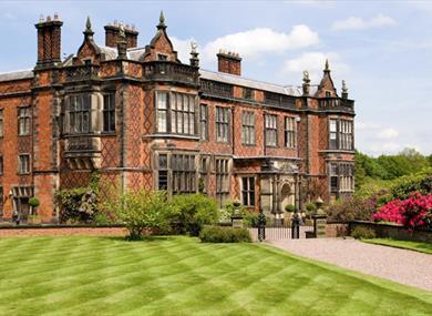 Stunning Exterior of Arley Hall & Gardens