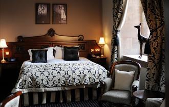 Peckforton Castle bedroom