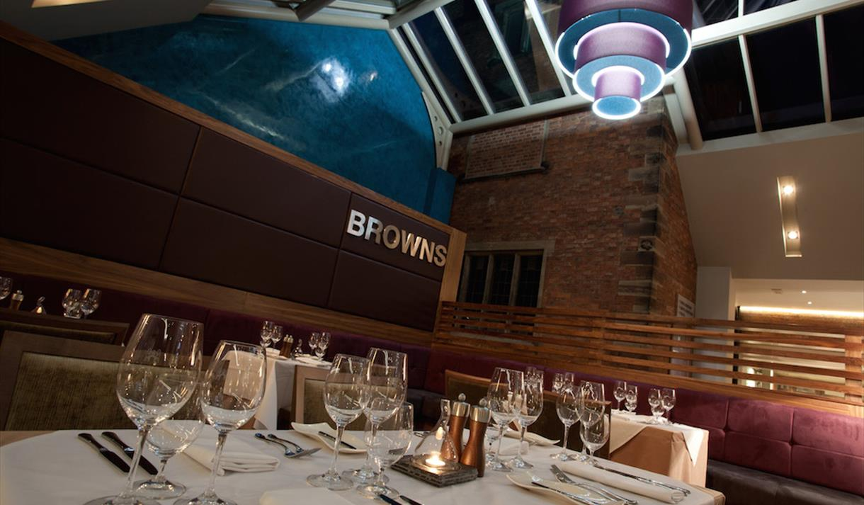 Named after Max Brown, legendary at The Mere for his magnetic charm and innate passion for exemplary service.