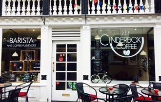Cinderbox Coffee exterior
