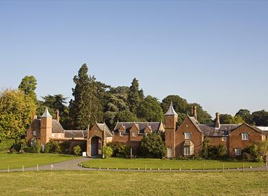 Stunning view of Combermere Abbey Cottages
