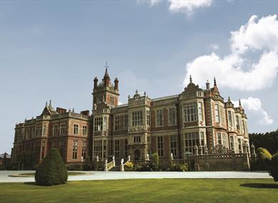 Crewe Hall, a stunning Grade I listed building