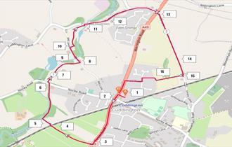 Cuddington Rail Trail 4.5km Circular