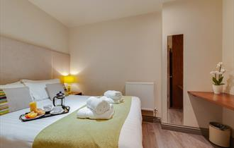 Bedroom, Base Serviced Apartments
