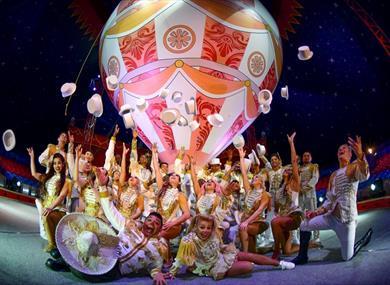 Gandeys Circus - the Unbelievable Tour!