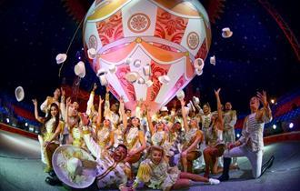 Performers at Gandeys Circus