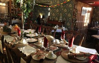 Davenports Tea Room is an award winning tea room that serves breakfast and light lunches