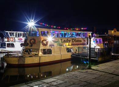 ChesterBoat Christmas Party Nights Afloat Lady Diana Boat