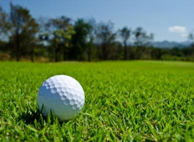 """""""Golf Ball"""" by amfroey"""