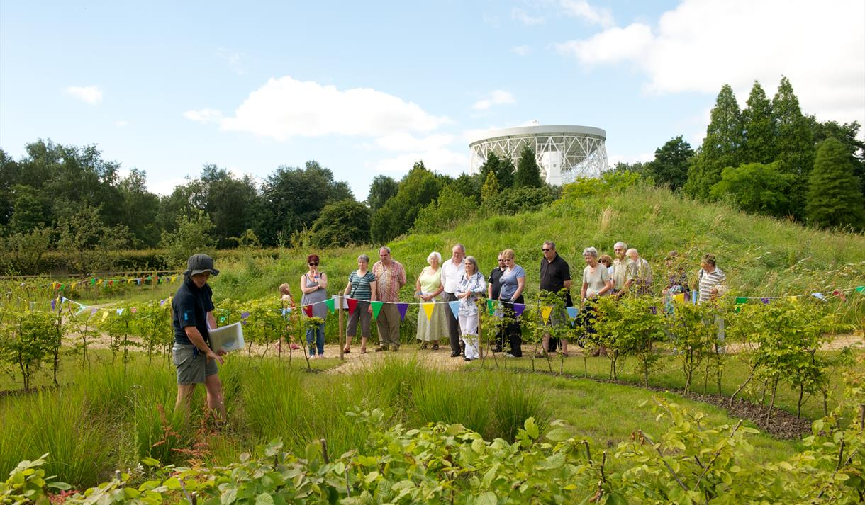 Jodrell Bank Discovery Centre, the perfect place for a group visit.