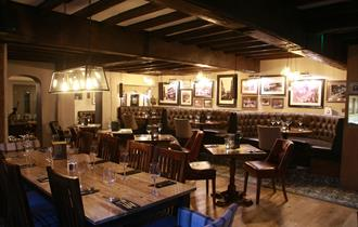 At the Crown Hotel, Nantwich, the emphasis is on great British food