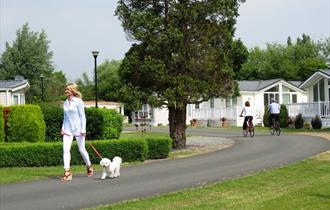 Fir Trees Caravan and Lodge Park, a peaceful 5* park