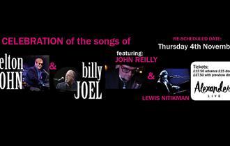 Reilly & Nitikman Celebrate the Songs of Elton John