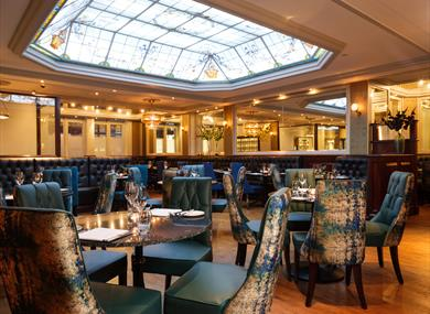 La Brasserie restaurant at The Chester Grosvenor