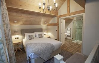 Bedroom at The Lion at Malpas