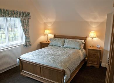 Main Bedroom Lower Road Cottage at Port Sunlight Holiday Cottages