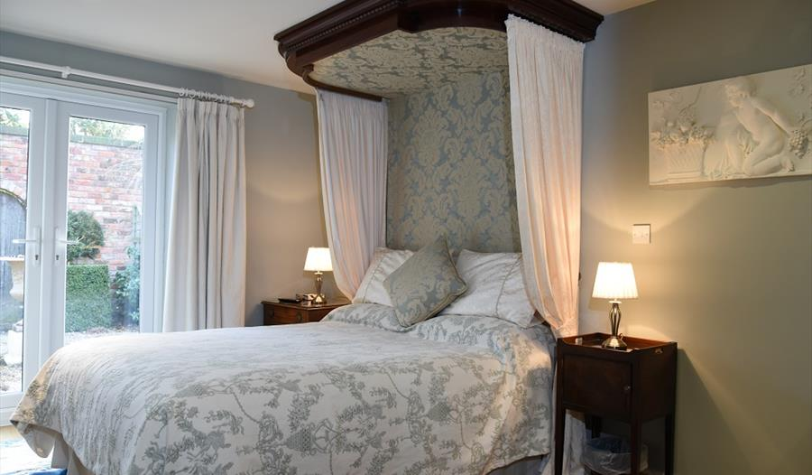 Relax in the Egerton room at Manor Farm B&B
