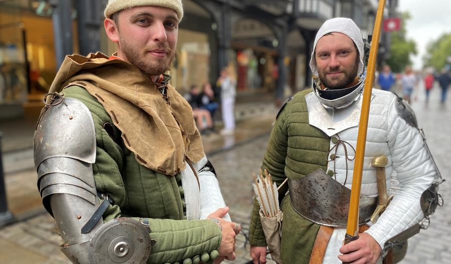 Chester Rows Medieval Meet and Greet