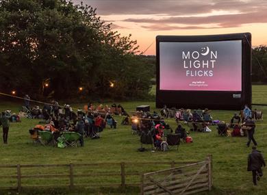 Moonlight Flicks at Claremont Farm